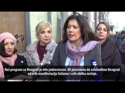 Трипић: Ослободићемо Београд од говора и културе мржње! (26.01.2018.)