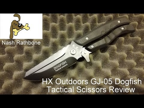 HX Outdoors GJ-05 Dogfish Tactical Scissors Review