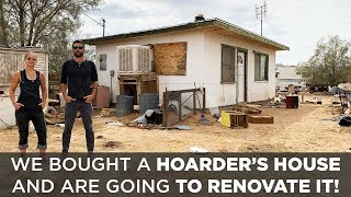 We bought a house from a HOARDER   Renovation Challenge