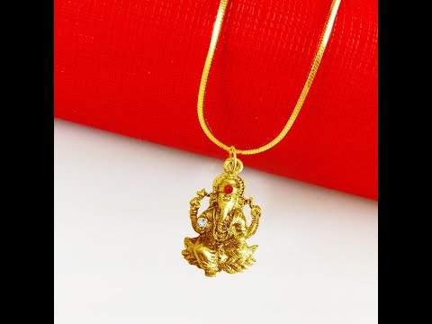 Ganesh pendants latest jewellery design mens jewellery ganesha pendant for men with price by menjewell mozeypictures Gallery