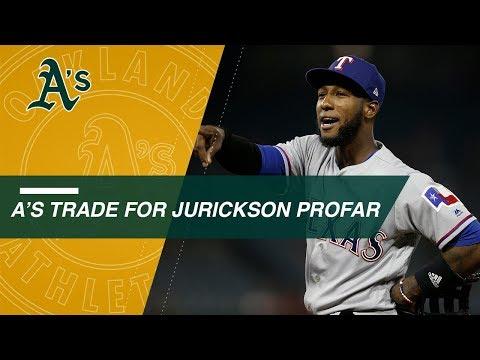 Video: Profar involved in recent trade buzz around baseball