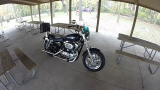 1. Sport Bike Rider Rides A Harley? 1200 Custom First Ride-Review