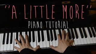 Video Machine Gun Kelly - A Little More | Piano Tutorial download in MP3, 3GP, MP4, WEBM, AVI, FLV Mei 2017