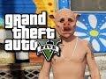 GTA 5 Online Random Moments - Lucky Landing! (GTA V Funny Moments!)