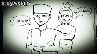 Video Hantu Makmum Saat Sholat    DRAWSTORY MP3, 3GP, MP4, WEBM, AVI, FLV Maret 2019