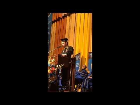 SCUHS Spring 2015 Graduation Acupuncture Valedictory