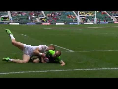Seven monster tries from the London 7s!