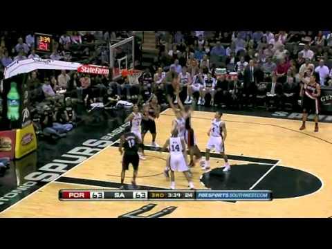Portland Trail Blazers 100 – San Antonio Spurs 92