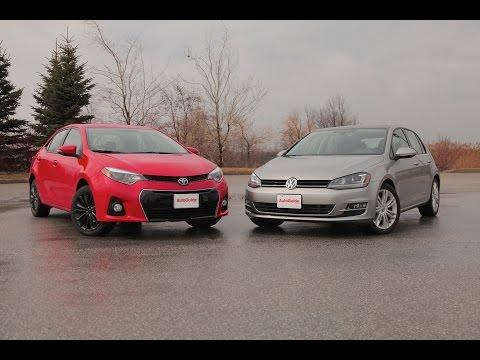 2015 Toyota Corolla vs. 2015 Volkswagen Golf