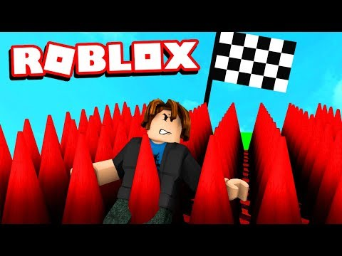 ROBLOX TRY NOT TO RAGE OBBY (keyboard broken)