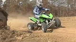 5. 2011 Kawasaki KFX450R ATV