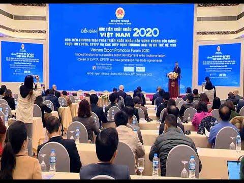 Xúc tiến thương mại hướng đến phát triển xuất khẩu bền vững