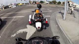 2. 2013 Can Am Spyder RSS Demo Ride