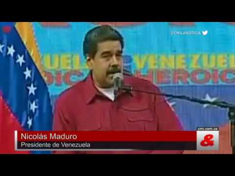 """Nicolás Maduro: """"A veces me provoca convertirme en un dictador"""""""