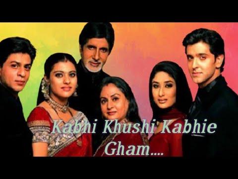 Kabhi Khushi Kabhie Gham | Amitabh Bachchan | Shahrukh Khan |Hrithik Roshan | old HD movies