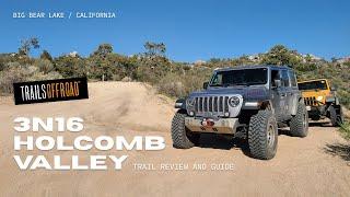 3N16 - Holcomb Valley 4wd Road - Big Bear, California - A drive through the seasons...