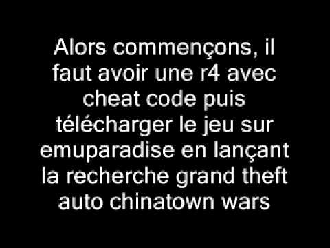 comment monter dans un avion dans gta chinatown wars sur ds