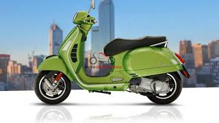 2. 2018 Vespa GTS Super 300/GTS Super 300 Sport | New 2018 Piaggio Vespa Model | MOTO INTRODUCTION