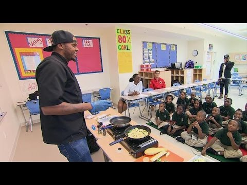 D.C. Chef Teaches School Kids To Overcome Adversity