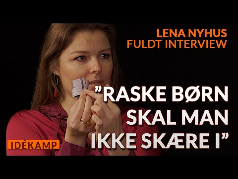 Lena Nyhus - AGAINST CIRCUMCISION OF BOYS (Danish with English. subs)