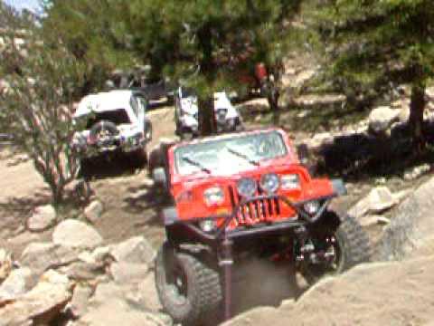 Wrong Turn Andrew on John Bull Trail 6/7/10