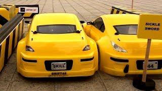 Parkowanie samochodem RC -poziom Azjata