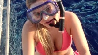 Download Youtube: DIVING WITH SHARKS! | iJustine