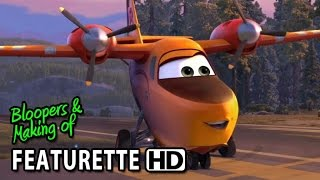 Planes: Fire&Rescue (2014) Featurette - How To Draw Dipper