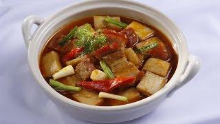 Món Ngon Mỗi Ngày - Thịt Heo Quay Kho Củ Hủ Dừa