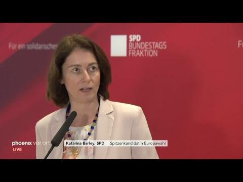 Pressekonferenz nach der SPD-Klausurtagung am 11.01.19