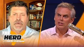 Mark Schlereth talks Mahomes contract, Lamar, Drew Lock growth & more | NFL | THE HERD by Colin Cowherd