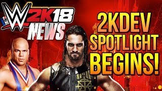 WWE 2K18 News: 2KDev Spotlight Begins! [#WWE2K18 News]...Hit The LIKE! 👍🏼 & Turn ON Notifications🛎► Follow Me!• Twitter - https://twitter.com/MachoT_YT💪 JOIN ME! HELP ME REACH ➡️  50,000 ⬅️ SUBSCRIBERS!SUBSCRIBE! For WWE 2K Games + WWE News & Rumors!In this video I have News coverage of WWE 2K18, the next WWE Game...Join Me to be UPDATED on all News/Rumors/Info, & Announcements heading into the release of the game!► Popular Playlist! WWE 2K18 News Playlist:•https://goo.gl/AUesTnChannel Description:• All Things WWE & WWE 2K Games. Multiple News & Rumors Round-Up Episodes throughout the week, keeping you guys up to date on all the News & Rumors in Wrestling, leading up to Raw, Smackdown, NXT, & PPVs like Wrestlemania! Also WWE 2K17 Content & Upcoming WWE 2K Games, WWE 2K18 News!►For WWE News/Rumors & WWE 2K18 Content, Updates, & Tutorials • SUBSCRIBE! - https://www.youtube.com/c/DRsMachoTThank You For Watching!- Macho T