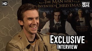 Nonton Dan Stevens   The Man Who Invented Christmas Exclusive Interview Film Subtitle Indonesia Streaming Movie Download