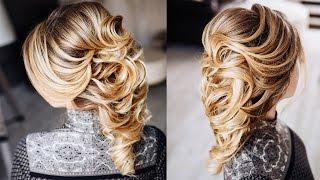вечерние греческие прически на средние волосы