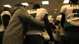 DeSean Jackson game winning punt return against Giants and Locker Room Celebration
