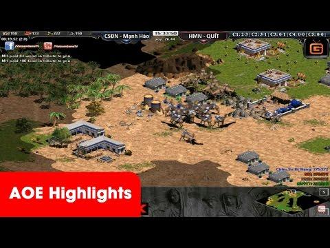 AOE HighLights - Pal của CSĐN tiêu diệt Shang của Quýt trong 1 nốt nhạc