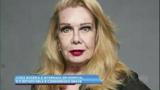 A atriz, que está com 74 anos, foi internada devido a uma infecção urinária. Saiba mais na Hora da Venenosa desta sexta (14).