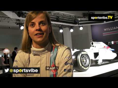 Female F1 Driver Susie Wolff Looks Ahead To the 2014 Season
