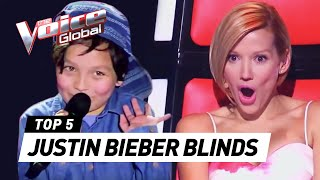 Video BEST JUSTIN BIEBER BLIND AUDITIONS IN THE VOICE KIDS MP3, 3GP, MP4, WEBM, AVI, FLV Desember 2017