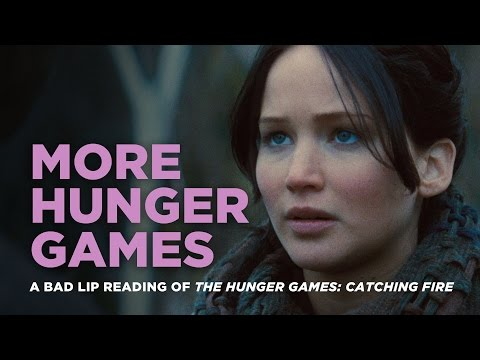 """MORE HUNGER GAMES"" — A Bad Lip Reading of Catching Fire"