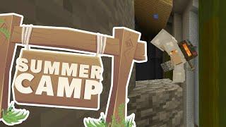 Minecraft | SUMMER CAMP! - THE MINESHAFT! [10]