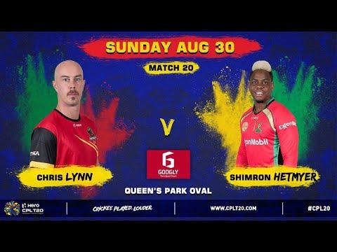EXTENDED MATCH HIGHLIGHTS MATCH 20 | SKP V GAW | #CPL20 #CricketPlayedLouder #SKPvGAW