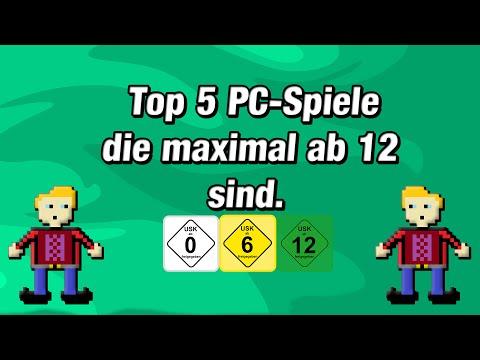 Top 5 PC-Spiele, die maximal ab 12 sind!