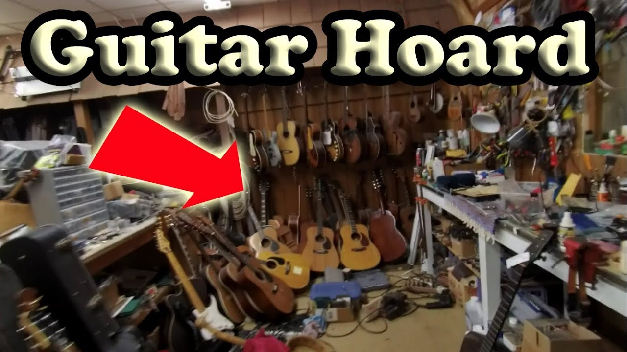 Guitar Store Owner Lets Me IN BACK to See PRIVATE HOARD!