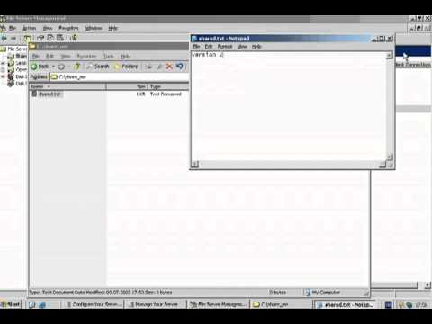 Windows Server 2003 File Server Shadow Copy.flv