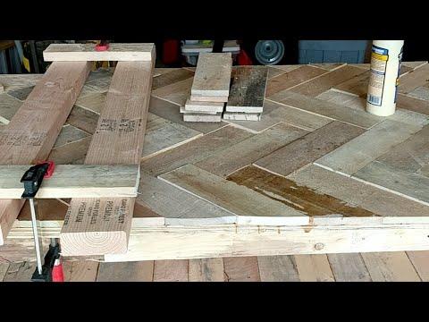 Pallet Wood Bar - Part 3