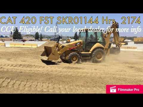 CATERPILLAR BACKHOE LOADERS 420FST equipment video RKSdHXhooGQ