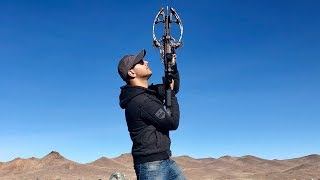 Video How Long does it take for a Crossbow Arrow to fall back down? 🏃🏹 MP3, 3GP, MP4, WEBM, AVI, FLV Maret 2019