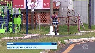 Marília: mais bicicletas nas ruas