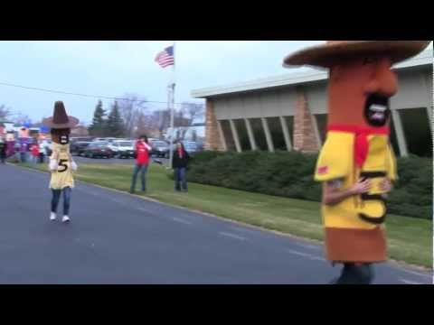 Racing Sausages (And Our Own Homemade Sausages) Visit Western States Envelope & Label